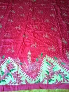 kain sutra batik tulis madura