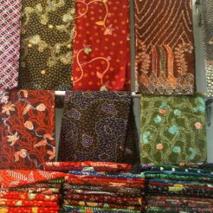 grosir shawl batik murah