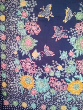 Batik Tulis Halusan Madura Motif Kupu Kupu Jual Batik Tulis