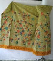 batik tulis motif flora fauna