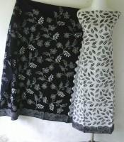 Batik Warna Hitam Putih