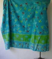 Batik Tulis Madura Warna Biru