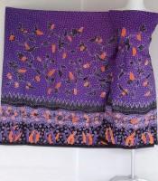 Batik Tulis Warna Ungu