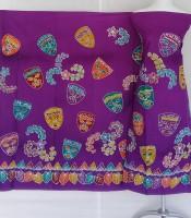 Batik Tulis Motif Topeng