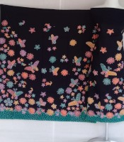 Batik Tulis Motif Bunga & Kupu- Kupu